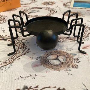 Spider candle holder